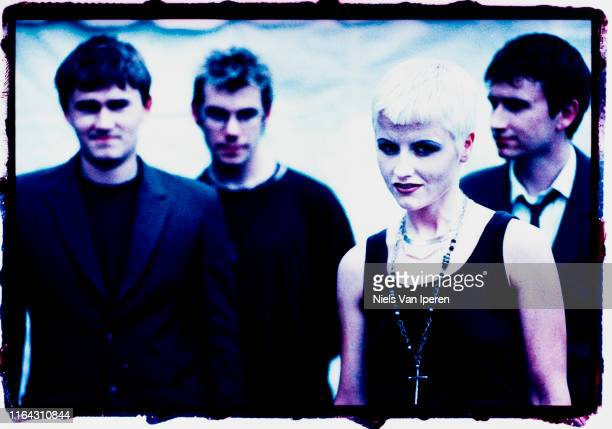 The Cranberries portrait Woodstock Saugerties NY 13th August 1994