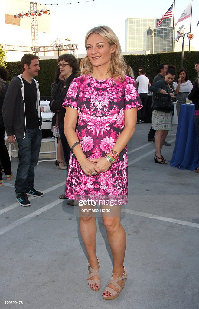 'The Crash Reel' Director/Producer Lucy Walker attends the HBO Docs Reception during the 2013 Los Angeles Film Festival at L.A. Live Event Deck on June 16, 2013 in Los Angeles, California.