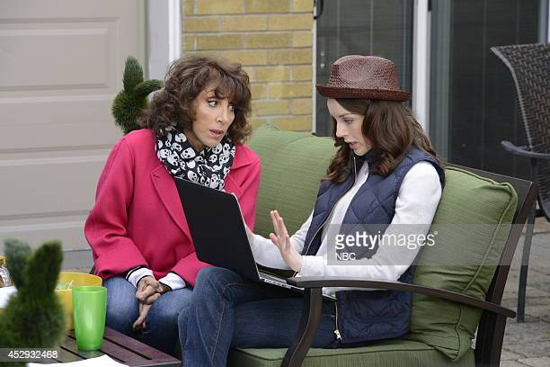 ENGELS The Crazy Family Episode 104 Pictured Andrea Martin as Ceil Engel Kacey Rohl as Jenna Engel