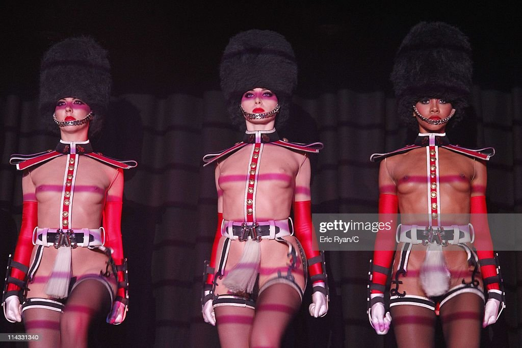 The Crazy Horse Dancers perform during the Diamonds Are Girls Best Friend event during the 64th Annual Cannes Film Festival held at Hotel Martinez on May 16, 2011 in Cannes, France.