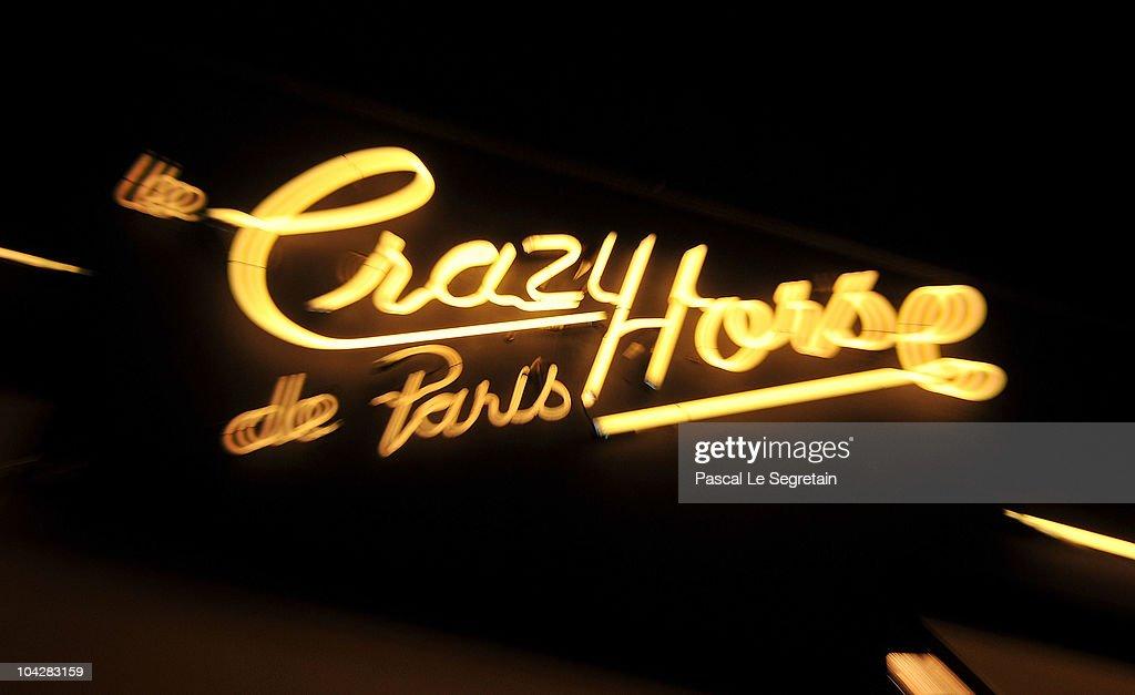 Clotilde Courau Performs At Crazy Horse - Photocall : News Photo