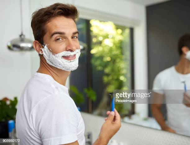 the cream before its all gone - shaving cream stock photos and pictures