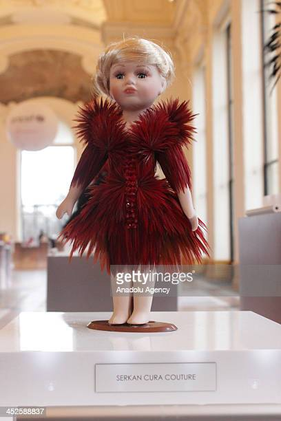The creation 'Celine' designed by Serkan Cura at Petit Palais on November 29 2013 in Paris The world's top fashion houses in the 11th edition of the...