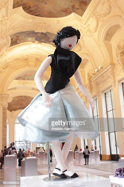 The creation 'Isis' designed by Christian Dior at Petit Palais on November 29 2013 in Paris The world's top fashion houses in the 11th edition of the...