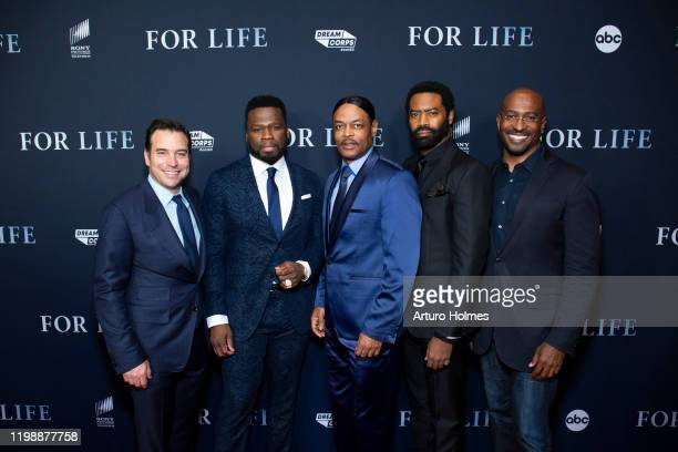 FOR LIFE The creative team for ABCs new drama For Life including Creator and Executive Producer Hank Steinberg Executive Producer and star Curtis 50...