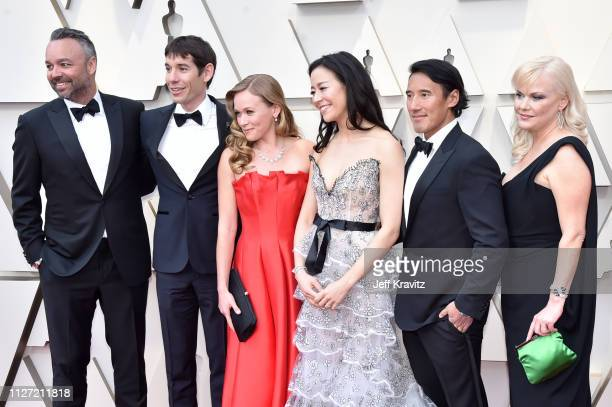 The creators of 'Free Solo' attend the 91st Annual Academy Awards at Hollywood and Highland on February 24 2019 in Hollywood California
