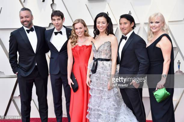 The creators of 'Free Solo' attends the 91st Annual Academy Awards at Hollywood and Highland on February 24 2019 in Hollywood California