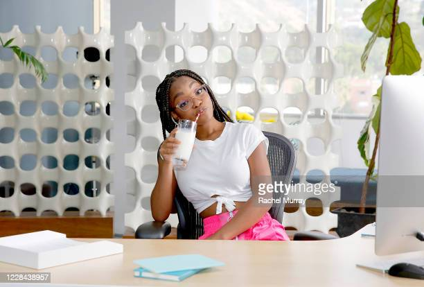 The creators of got milk kick off a new campaign with celebrated actress TV/Film star and Hollywoods youngest executive producer Marsai Martin on...