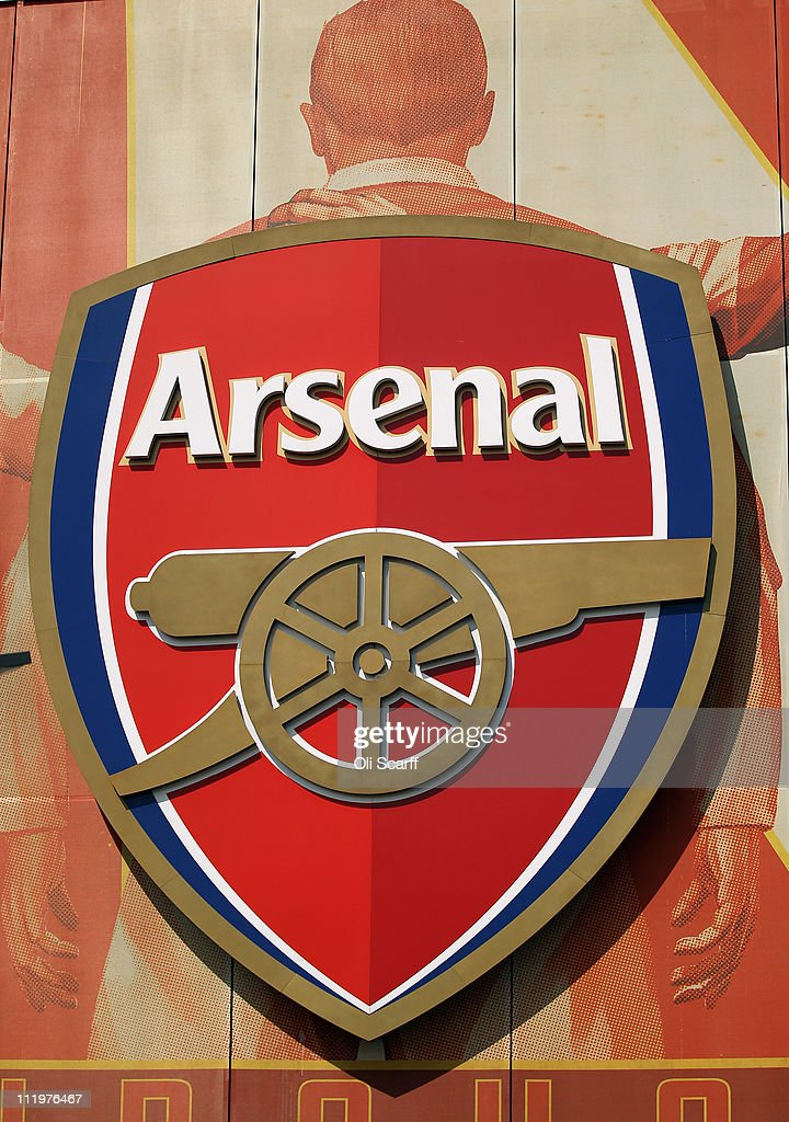 The crest for Arsenal Football Club is displayed on their Emirates Stadium on April 11, 2011 in London, England. American businessman Stan Kroenke's company 'Kroenke Sports Enterprises' has increased its shareholding in Arsenal to 62.89% and will make an offer for a full takeover of the club. Kronke first purchased 9.9% of Arsenal shares in 2007. Today's deal values the Premier League club at 731m GBP.