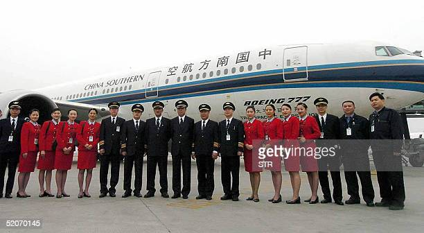 The crew of China Southern Airlines flight CZ3097 which is scheduled to take off from the southern city of Guangzhou at 800 am 29 January and is...