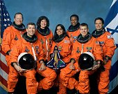 The crew of space shuttle columbias mission sts107 take a break from picture id2911984?s=170x170