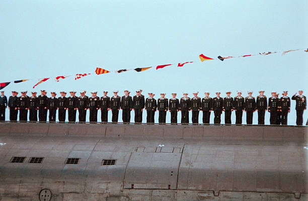RUS: 12th August 2000 - Russian Submarine Kursk Sank In Barents Sea