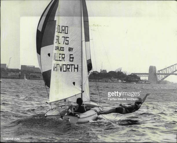 The crew to be relved Tony Waldron Skipper and on Trapeze Vince Lamond both of Greenwich Sailing clubThe Centre Board Classes Committee of the...