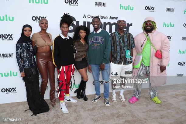 """The Crib Around the Corner Collective attend a Cinespia Special Screening Of Fox Searchlight And Hulu's """"Summer Of Soul"""" With Questlove at The Greek..."""