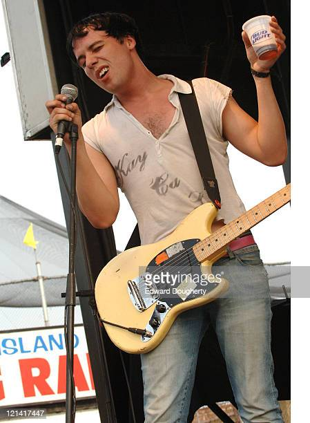 The Cribs during 6th Annual Village Voice Siren Music Festival at Coney Island in Brooklyn, New York, United States.