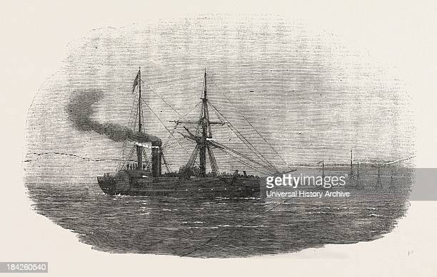 The Europa Steamship Leaving Kingstown With The 90Th Regiment On Board For The Seat Of War 1854