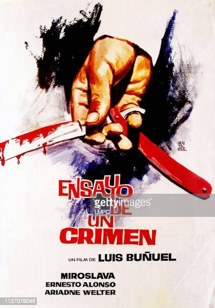 The Criminal Life Of Archibaldo De La Cruz poster Spanish language poster 1955