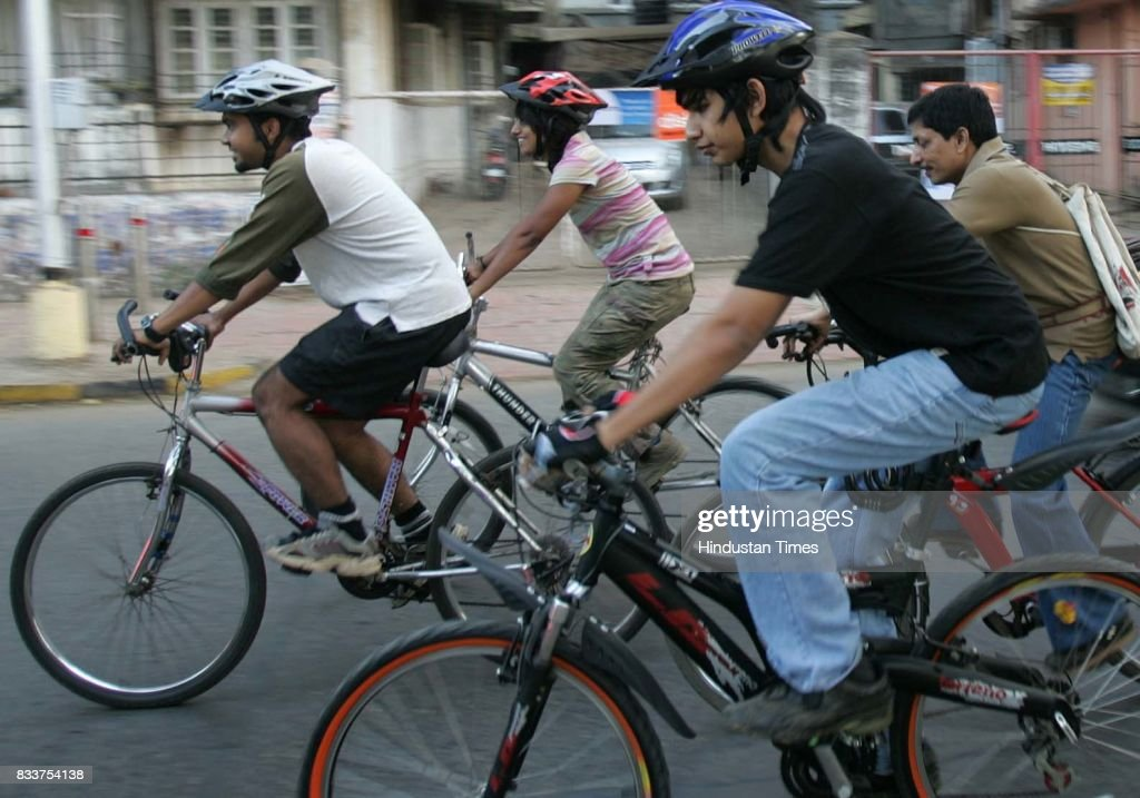 The Critical Mass, an international cycling event, was held for the first time in the city on Saturday. The rally started from Shivaji Park in Dadar to Juhu beach, with a group of around 50 cyclists trying to reclaim their position on the streets of Mumbai.