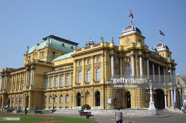 CONTENT] The Croatian National Theater in Zagreb commonly referred to as HNK Zagreb is a structure located in Zagreb owned and operated by the...