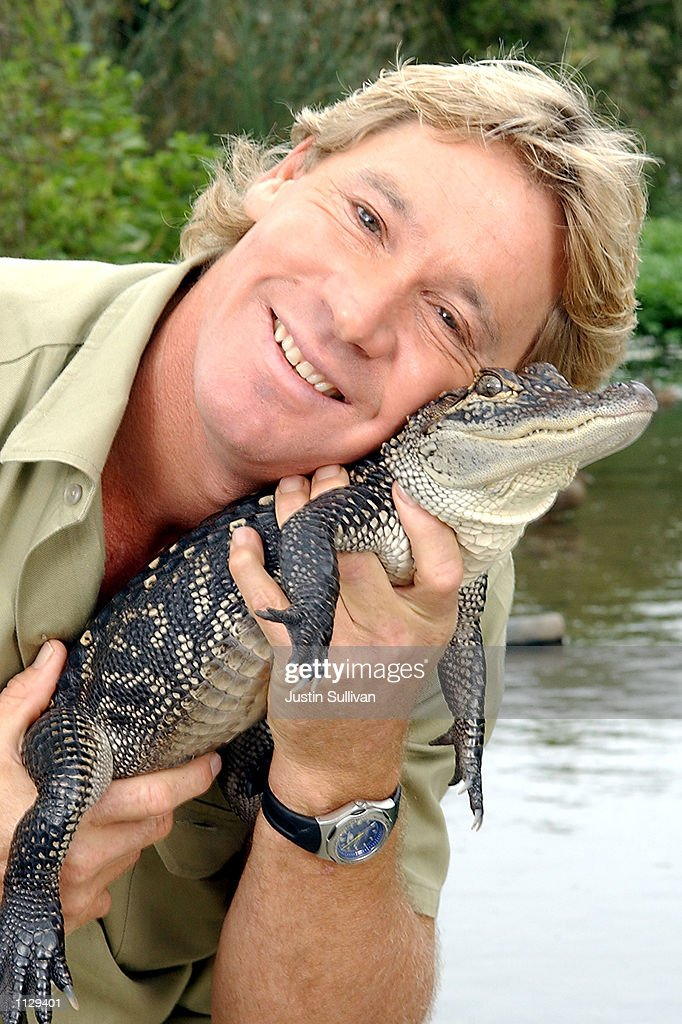 Crocodile Hunter Steve Irwin  : News Photo