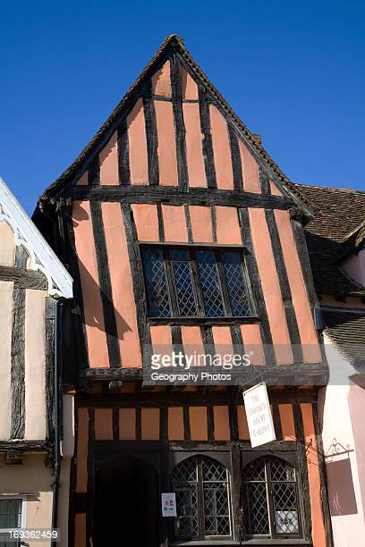 The Crooked House gallery Lavenham Suffolk England