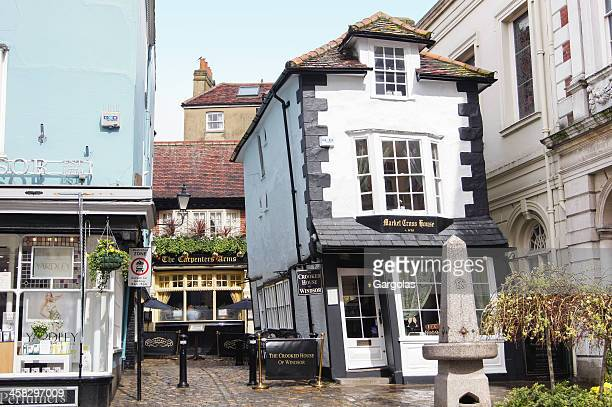 """the crooked house"" in windsor - windsor england stock pictures, royalty-free photos & images"