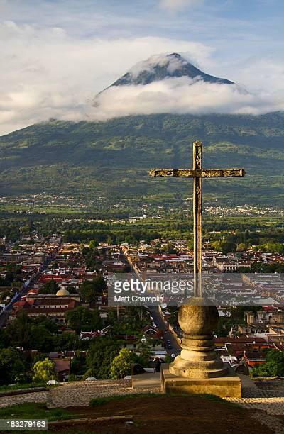 The Cross at Cerro de la Cruz overlooking Antigua