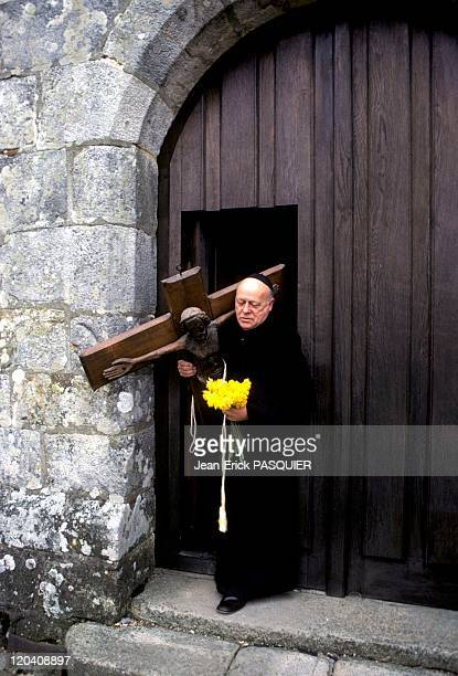 The Cross Of The Priest In France In 1987 Father takes great care of his churcha Country Priest Father Quintin Montgomery Wright Scottish...