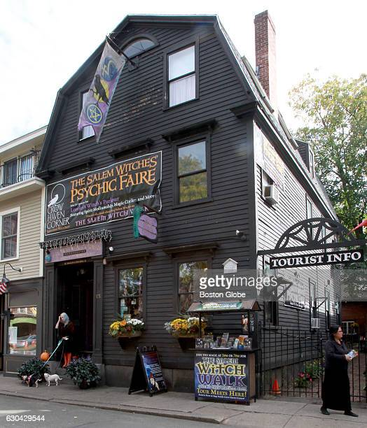 The Crow Haven Corner shop which is owned by Salem witch Lorelei Stathopoulos is pictured in Salem MA on Oct 14 2015