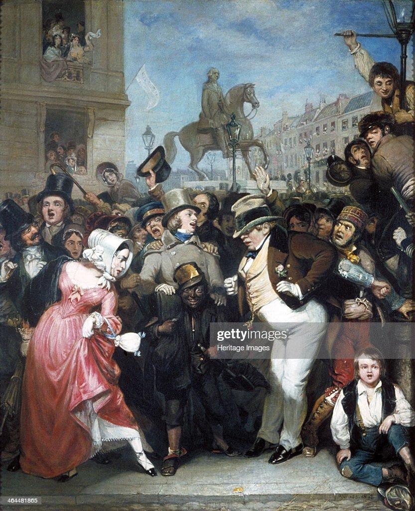 'The Crowd', 1847. Artist: Robert William Buss : News Photo