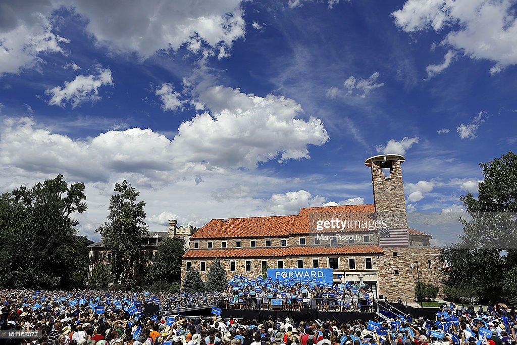 President Barack Obama University of Colorado : News Photo