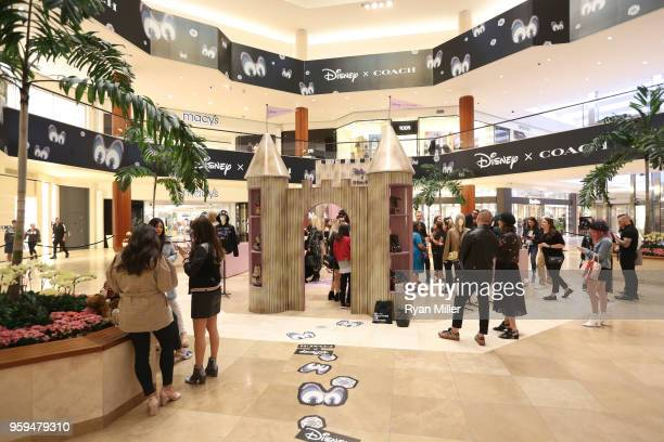 The crowd during the Disney x Coach Collection and Pop-Up Launch at South Coast Plaza on May 15, 2018 in Costa Mesa, California.
