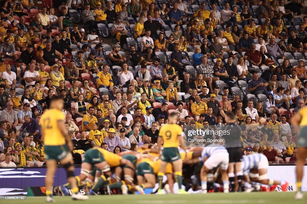 Australia v Argentina - 2020 Tri-Nations : News Photo
