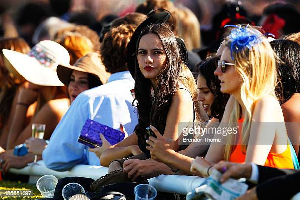 The crowd gathers to watch race 4 Arrowfield Royal Sovereign Stakes during Day Two of The Championships at Royal Randwick Racecourse on April 19 2014...