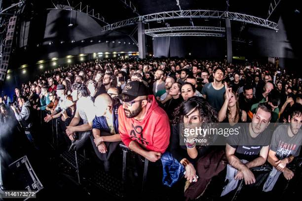 The crowd of the Trentemøller performs live at Fabrique in Milano Italy on February 15 2017