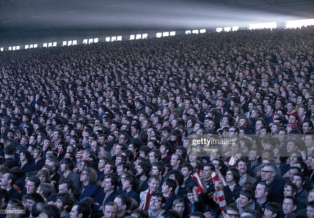The Kop At Anfield  -  Liverpool FC : News Photo