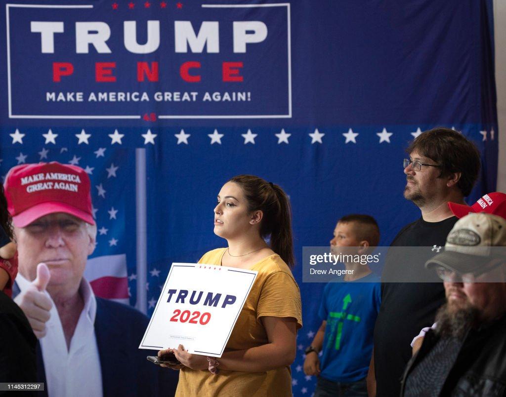 "Donald Trump Holds ""MAGA"" Rally In Central Pennsylvania : News Photo"