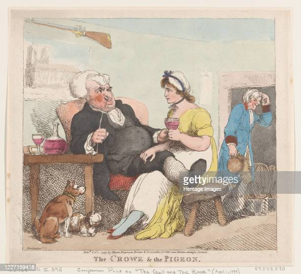 The Crowe The Pigeon October 1 1799 Artist Thomas Rowlandson