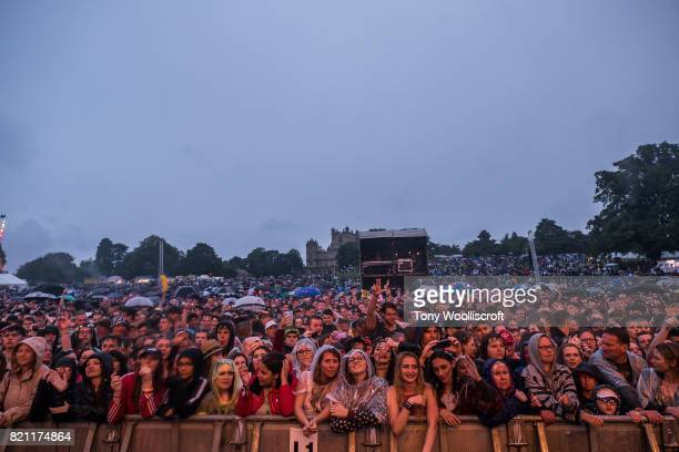 The Crowed Splendour Festival at Wollaton Park on July 22, 2017 in Nottingham, England.