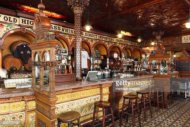 The Crown Liquor Saloon Belfast Northern Ireland 2010 The Crown Liquor Saloon is a fine example of a Victorian gin palace and is one of Belfast's...