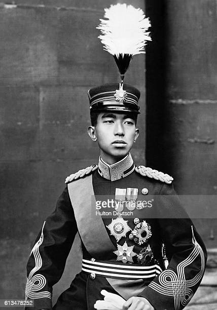 The Crown Prince Hirohito of Japan born on 29th April 1901 who succeedeed his father to the throne on 25th December1926