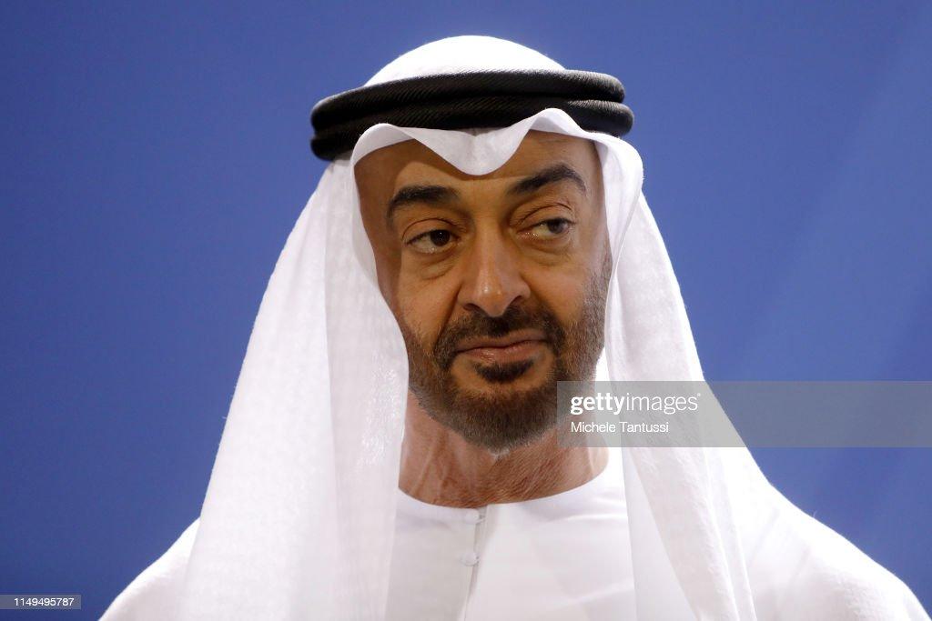 Crown Prince Of Abu Dhabi Visits Berlin : News Photo