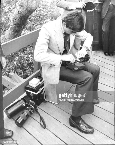 The Crown Prince of Iran Prince Reza Pahlavi photographed during his visit to Taronga ZooSeries of pictures of the Crown Prince of Iran showing him...