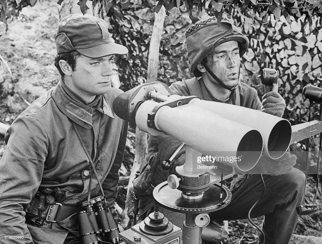 Carl Gustaf Using a Straightening Instrument for Missiles : News Photo