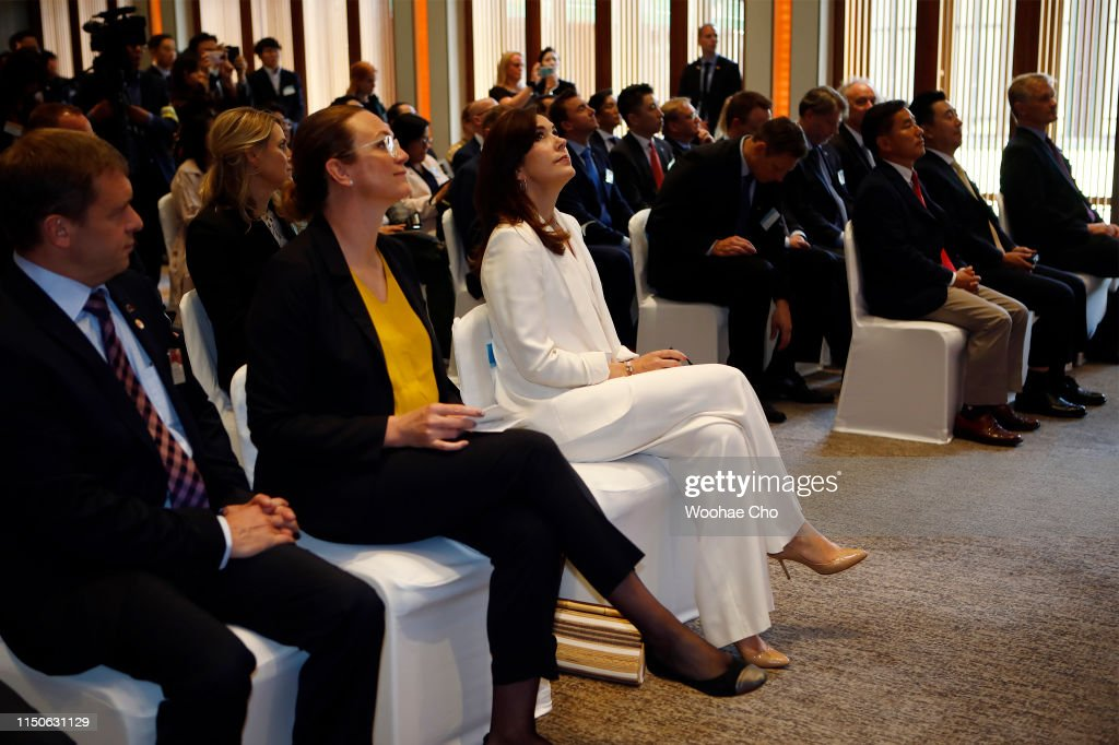 Crown Prince And Princess of Denmark Visit South Korea - Day 2 : News Photo