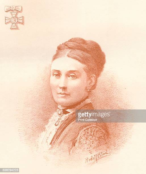 The Crown Princess of the German Empire and of Prussia ', 1884. Victoria, Princess Royal , eldest child of Queen Victoria of the United Kingdom and...