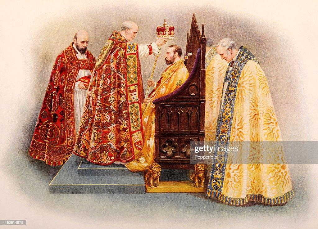 Coronation Of King George V : News Photo