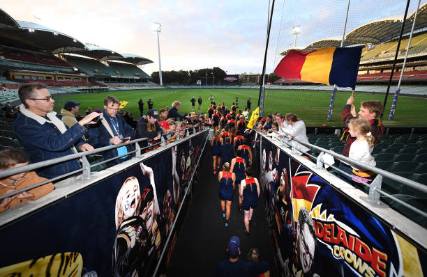 AUS: Adelaide Crows AFLW Training Session