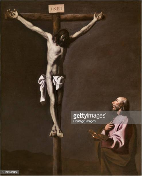 The Crucified Christ with a Painter c 1650 Found in the collection of Museo del Prado MadridFine Art Images/Heritage Images/Getty Images