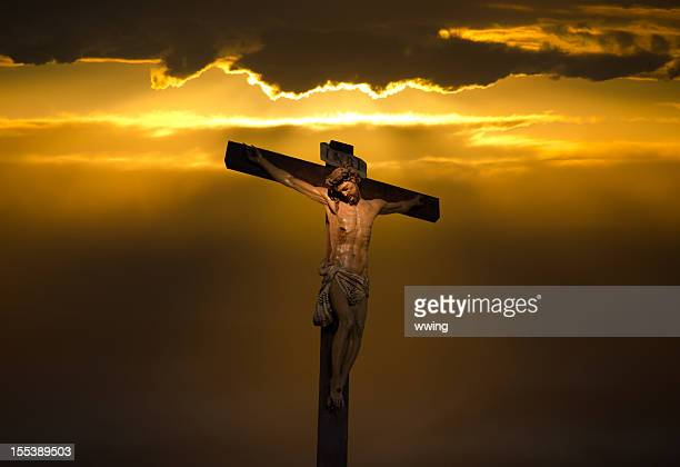 The Crucifix and Christ on Good Friday